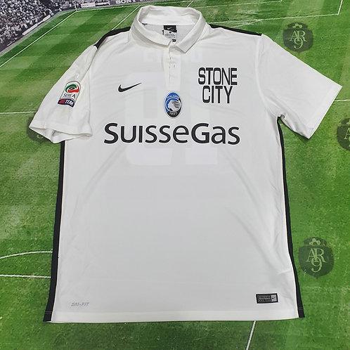 Camiseta Alternativa Atalanta 2012/13 #19 Denis