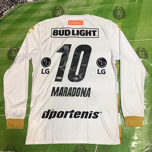 Camiseta Dorados Manga Larga 2020 Homenaje Diego Maradona