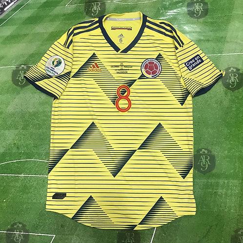 Camiseta Titular Colombia Copa América 2019 #8 Cardona