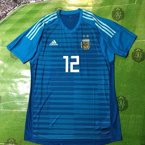 Camiseta Arquero AFA 2018 Azul
