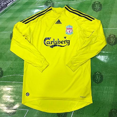 Camiseta Arquero Liverpool 2009/10