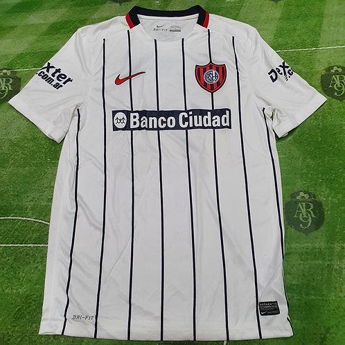 Camiseta Alternativa San Lorenzo 2015 #26 Matos