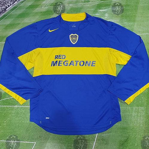 Camiseta Manga Larga Boca Juniors 2005/06 #8