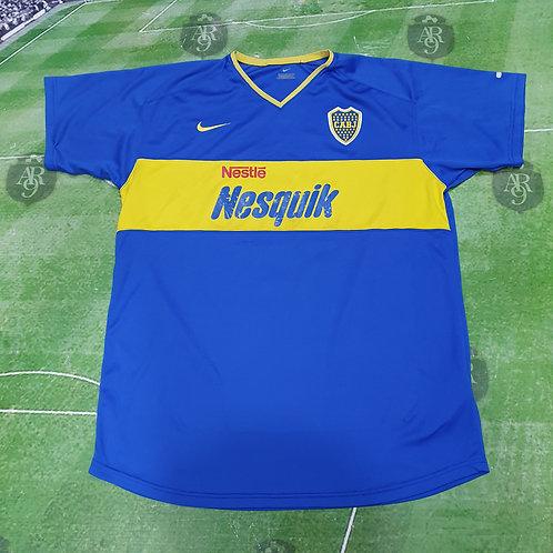 Camiseta Inferiores Boca Juniors 2003 #19