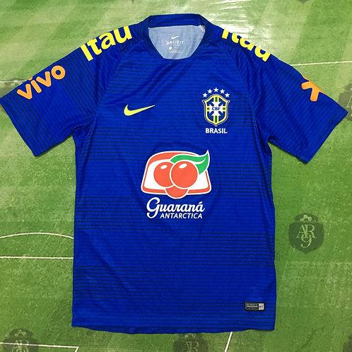 Camiseta Entrenamiento Azul Brasil 2018/19