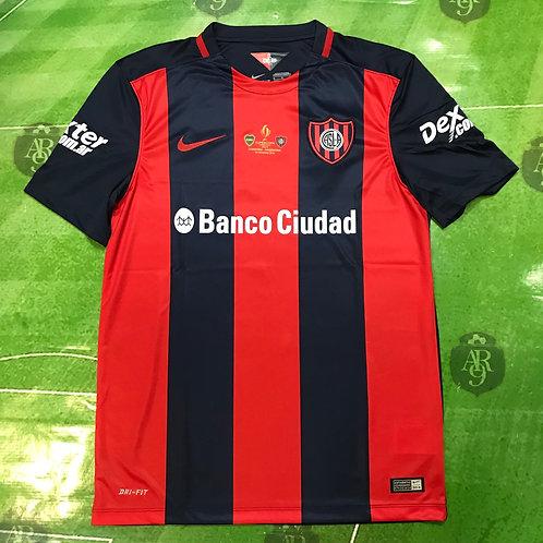 Camiseta San Lorenzo Titular 2016/17 Super Copa Argentina