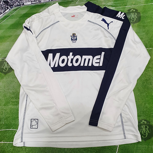 Camiseta Manga Larga Titular Gimnasia De La Plata 2007 #24 Cardozo