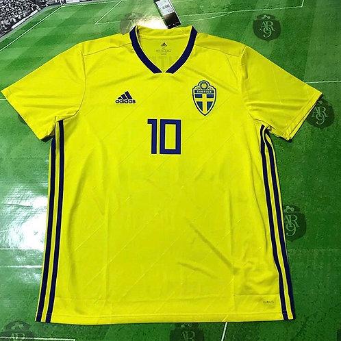 Camiseta Selección Suecia #10 Ibrahimovic