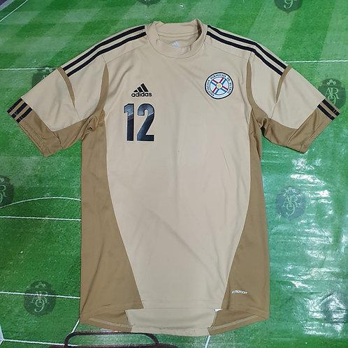 Camiseta Arquero Selección Paraguay #12 2011/12