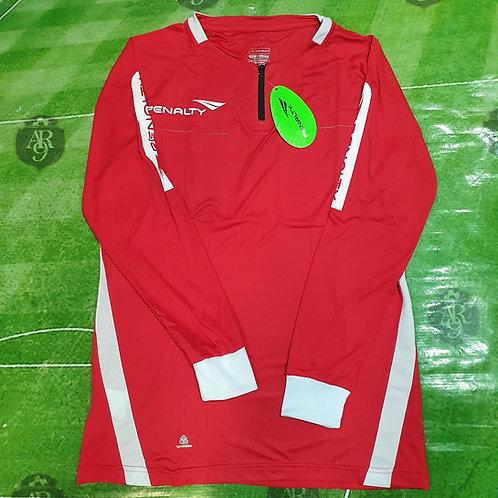 Camiseta Arbitro Femenino Manga Larga Penalty Roja