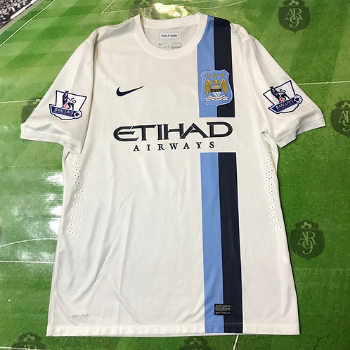 Camiseta Manchester City Alternativa 2013/14 Modo Juego