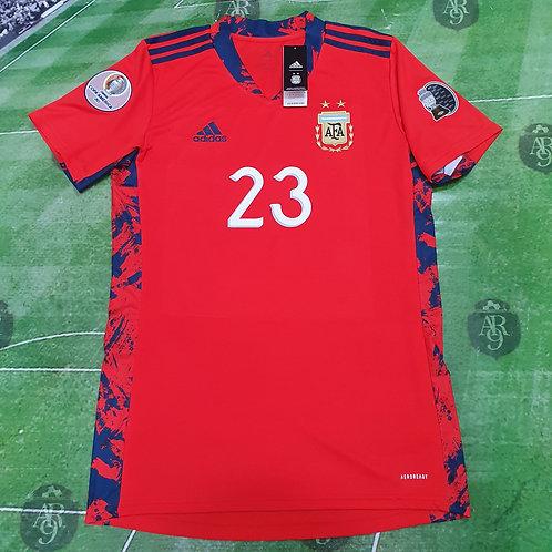 Camiseta Arquero AFA Copa América 2021 #23 Martinez