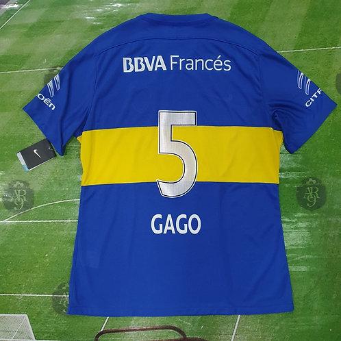 Camiseta Titular Boca Juniors 2015 #5 Gago