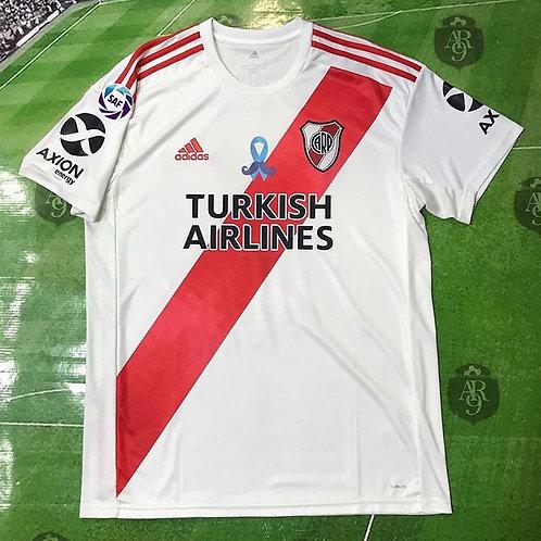 Camiseta River Plate Titular 2019/20 Parche cancer de Prostata