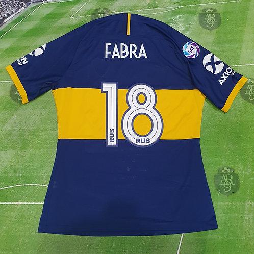 Camiseta Titular Boca Juniors 2019 #18 Fabra