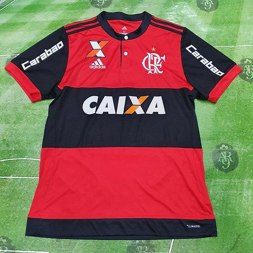 Camiseta Titular Flamengo 2017 #5 Willian Arão