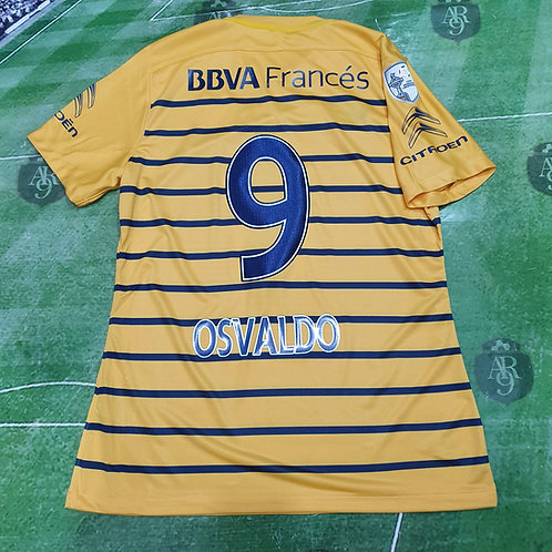 Camiseta Alternativa Boca Juniors Copa Libertadores 2016 #9 Osvaldo