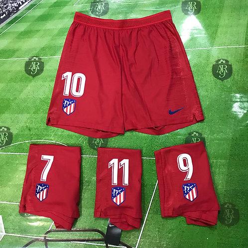 Short Atlético Madrid Titular Rojo 2018/19
