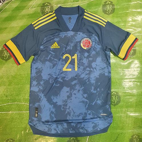 Camiseta Alternativa Selección Colombia 2020 #21 E. Cardona