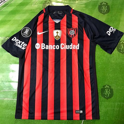 Camiseta San Lorenzo Titular Copa Libertadores 2018