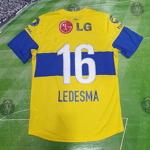 Camiseta Alternativa Boca Juniors 2011/12 #16 Ledesma