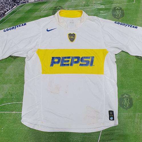 Camiseta Alternativa Boca Juniors 2004 #5 Cascini
