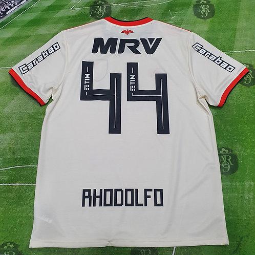 Camiseta Alternativa Flamengo 2018/19 #44 Rhodolfo
