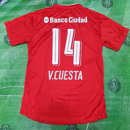 Camiseta Titular Independiente 2016/17 #14 Cuesta