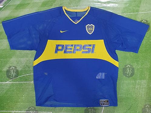 Camiseta Titular Boca Juniors 2004 #4