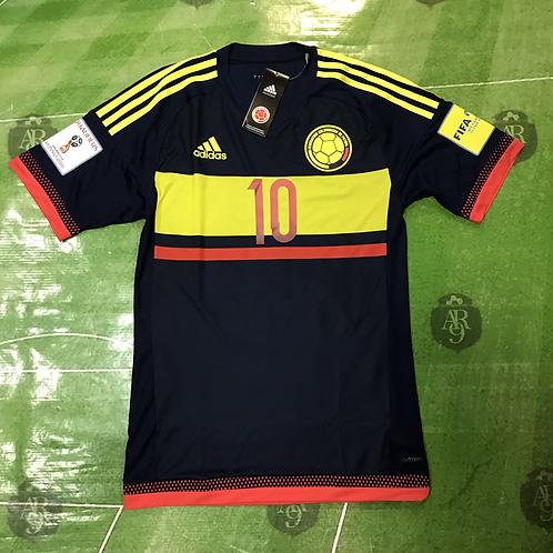 Camiseta Colombia Alternativa Eliminatorias Rusia 2018