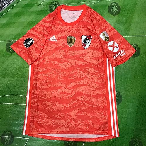 Camiseta Arquero River Plate Copa Libertadores 2019 Salmon