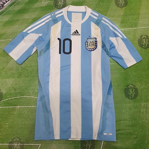 Camiseta Titular AFA 2010 #10 Messi
