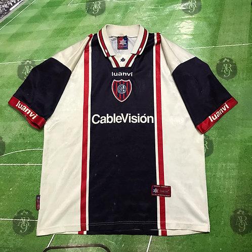 Camiseta Alternativa San Lorenzo 1999 #6