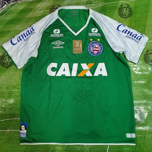 Camiseta Arquero Bahía 2018 #33 Anderson