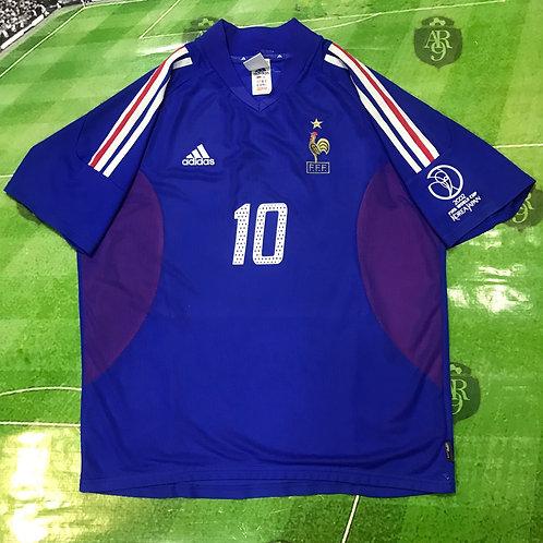 Camdieta Francia Titular Mundial Korea Japon 2002