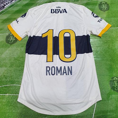 Camiseta Alternativa Boca Juniors 2013 #10 Román
