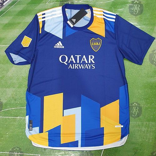 Camiseta Homenaje La Boca Alternativa Boca Juniors 2021