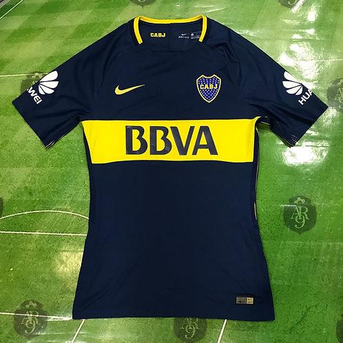 Camiseta Boca Juniors Titular 2017/18 Slim Fit