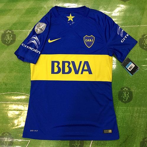 Camiseta Boca Juniors Titular 2016 Copa Libertadores