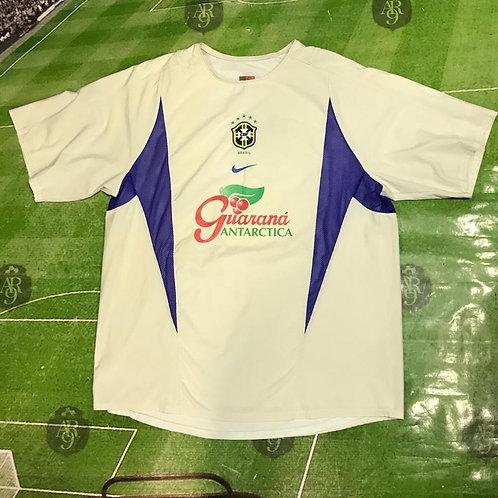 Camiseta Entrenamiento Brasil 2003/04