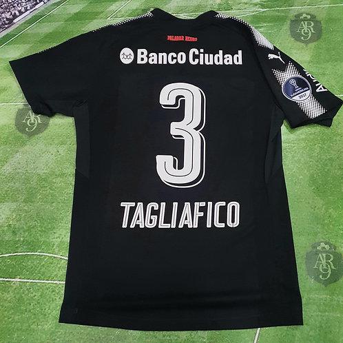Camiseta Alternativa Independiente Copa Sudamericana 2017 #3 Tagliafico