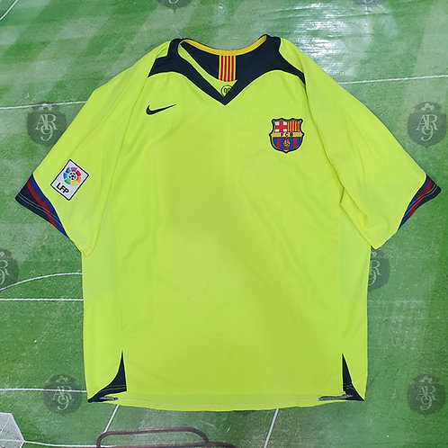 Camiseta Alternativa Barcelona 2006/07 #10 Ronaldinho