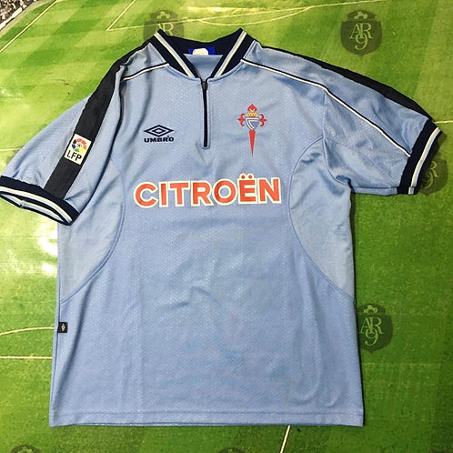 Camiseta Celta de Vigo 1999/2000 #27