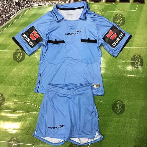 Conjunto Arbitro Femenino Azul