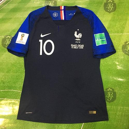 Camiseta Francia Titular Final Mundial Rusia 2018