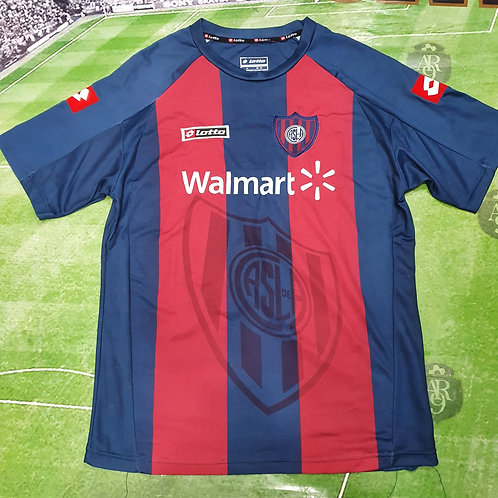 Camiseta Titular San Lorenzo 2010 #37