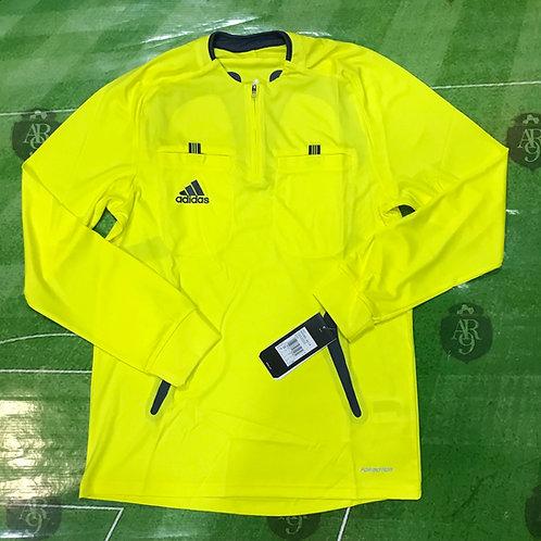 Camiseta Arbitro Adidas Formotion 2007 Manga Larga Amarilla