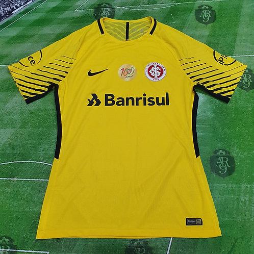 Camiseta Arquero Internacional 2017/18 #12 Lomba Amarillo