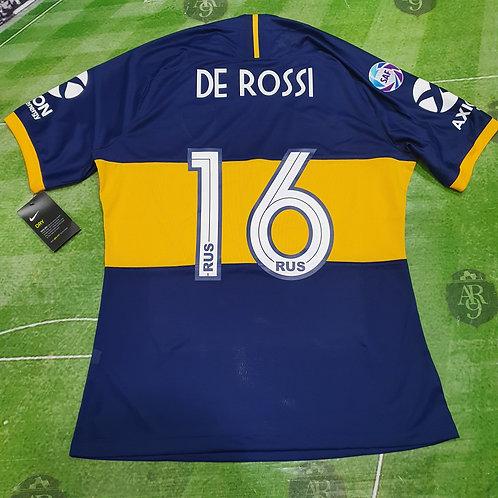 Camiseta Titular Boca Juniors 2019/20 Slim Fit #16 De Rossi