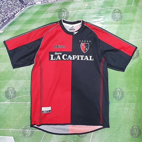 Camiseta Newells 2001/02 #6